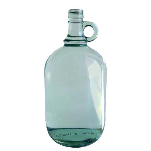 Garrafa de dos litros de vidrio